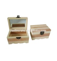 Wholesale custom unique packaging wooden jewelry gift box