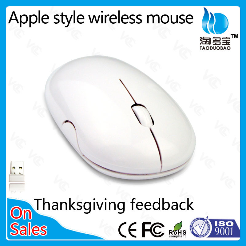 2.4 G gift ultra-thin cute designer wireless laptop mouse