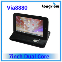 7 inch Via8880 dual core smart pad android 4.1 tablet pc