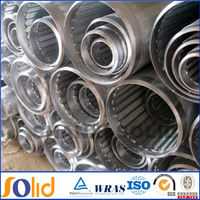 stainless steel 316L water well sand screens casing pipe