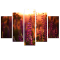 Wholesale Nature Scenery Canvas Printing Beautiful Flora Photo Printed on Canvas Home wall Decoration Multi-panel
