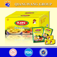 anhui supplier chicken/fish/beef/shrimp broth seasoning cubes bouillon cube instant soup cube
