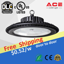 In Stock UL DLC CE Listed Factory Price Dimmable 100W 120W 150W 200W 300W 400W 500W Industrial UFO LED High Bay Light