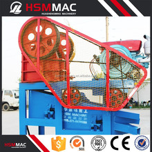CE gravel diesel engine mini jaw crusher