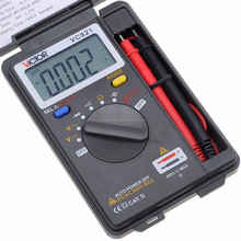 VC921 DMM VICTOR Integrated Personal Handheld Pocket Mini Digital Frequency Multimeter Tester Meter C0062