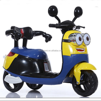2016 New minions electric kids tricycle bike tricycle for child