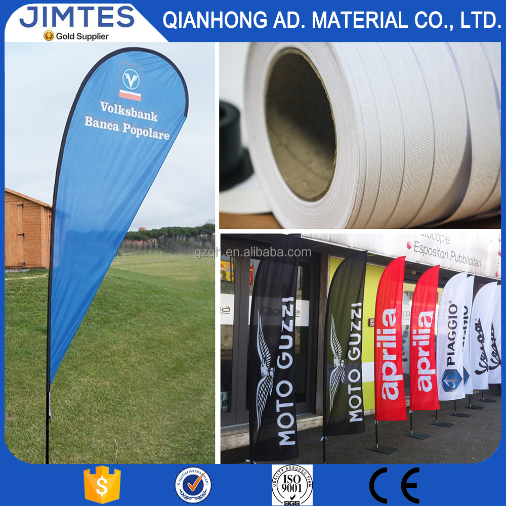 JIMTES factory supply selection material sharp polyester national flag banner