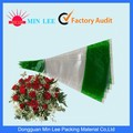 China hot sale custom transparent flowers sleeves flower packaging