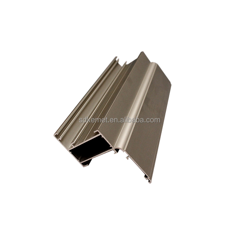 aluminum airfoil extrusion section