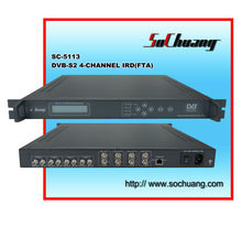 4 channel satellite receiver dvb-s/dvb s demodulator 4 in 4 out