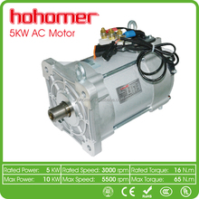 EV AC driving MOTOR 5KW or AC induction motor for electric otorcycle abd tricycle