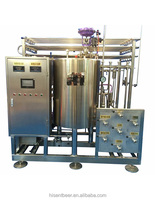 beverage flash pasteurizer
