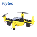 Flytec T11 Drone Quadcopter Toys DIY Building Blocks Drone Mini Drones Toys Yellow