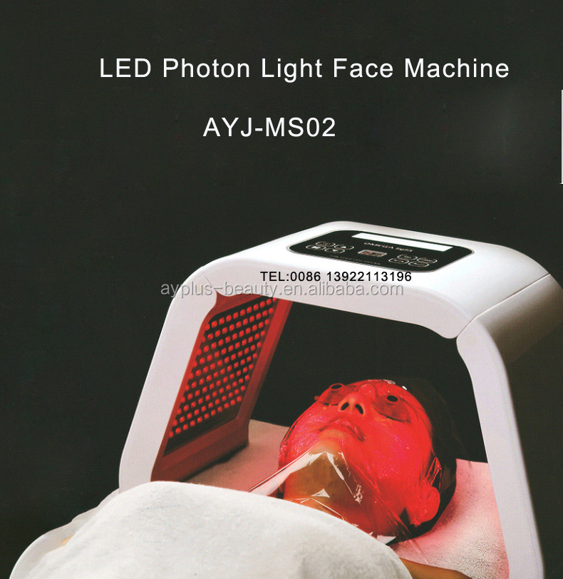 AYJ-MS02(CE) 2017 Newest facial ance treatment four color light therapy