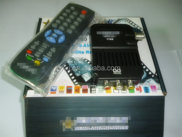 Serving the Middle East and Africa market TV receivers, DVB-S set-top boxes,