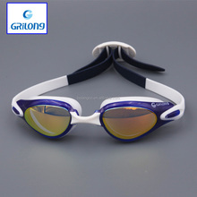 2016 Sexy swimming goggle with ear plug for swimming goggles anti fog