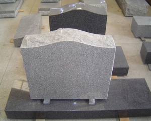 Rustic Headstone Granite Desk Simple Monument Ledger Kerbs