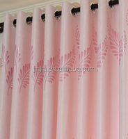 Jacquard curtain double swag shower curtain with valance