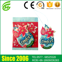 2015 New Style Cotton Paper Car Air Freshener Manufacturer