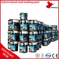 2015 Acrylic Cold Adhesive Road Marking Line Paint in Stock