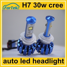 30w cree car tuning light h7 led bulb canbus