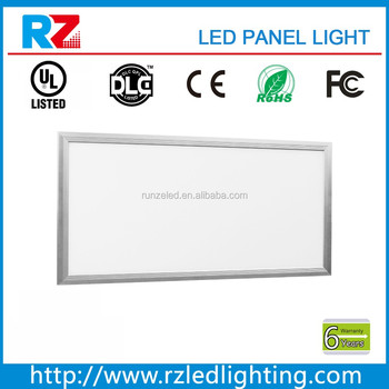 Ultra slim 45W 1ftx4ft dlc wholesale led square panel light for office lighting 7 years warranty