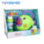 Burbuja Juguetes ,Children Plastic Hand-Cranked Fun Series Fish Bubble Machine