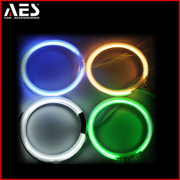 AES CCFL ring angel eyes headlight with the protection cover
