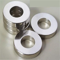 Permanent Type and Ring Shape N33EH Ni Coating NdFeB Ring Magnet