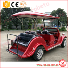 Electric Utility Mini Bus for Sale/classic luxurious new electric vintage car