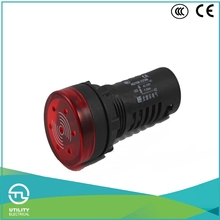 UTL New 2016 Led Signal Indicator Light OEM Color Flash Buzzer Button With Pilot Indicator Lamp