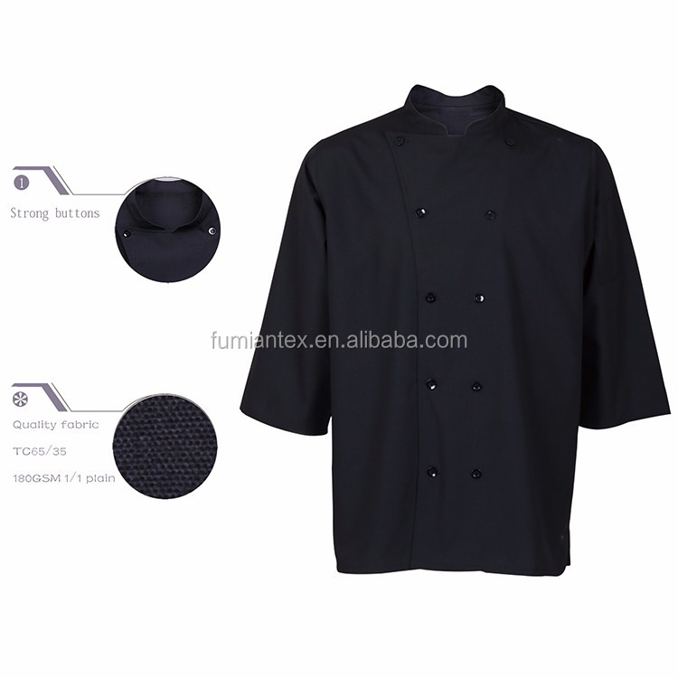 Brushed Professional Top Sale Chef Office Uniform