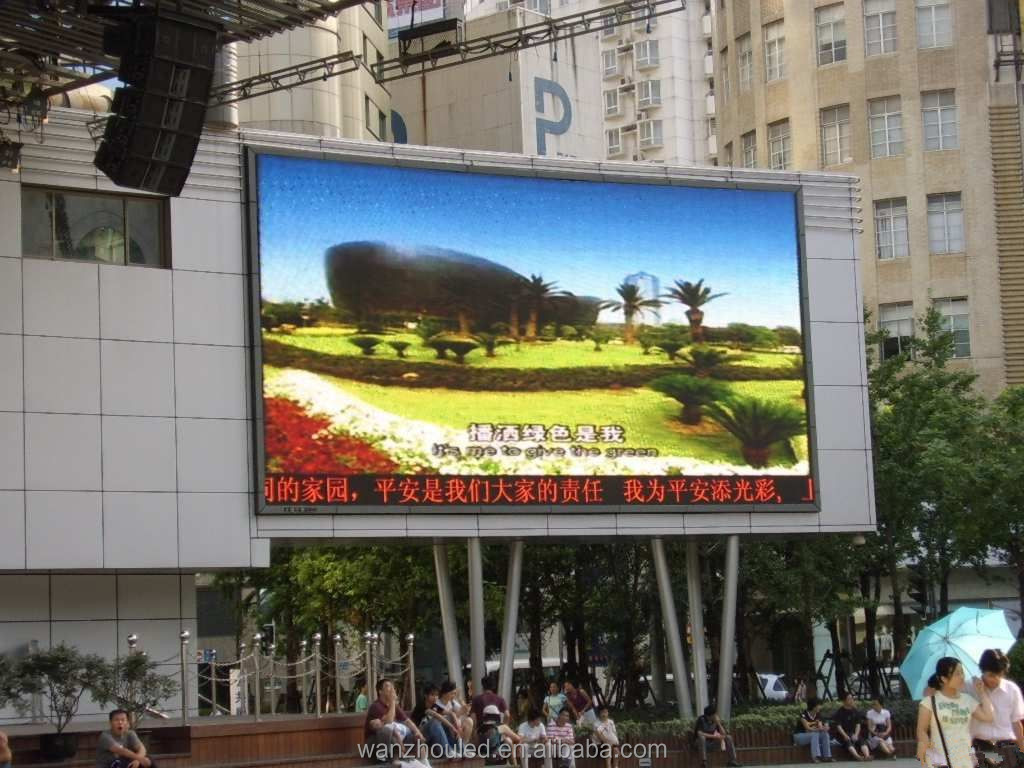 low cost p10 p16 led display outdoor advertising video screen / many colors alibaba cn P16 outdoor full color video tv led displ