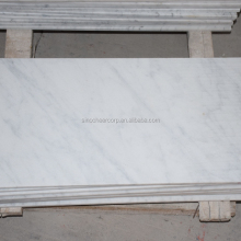 Hot selling white stone polish,nano white marble stone,turkish marble tile