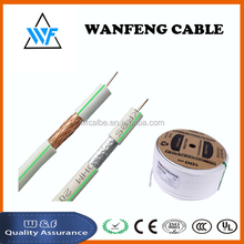 Cheaper price High Quality Rg6 Coaxial Cable For Tv/catv/satellite/antenna/cctv