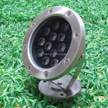 hot sale high quality and low price 12w led underwater light