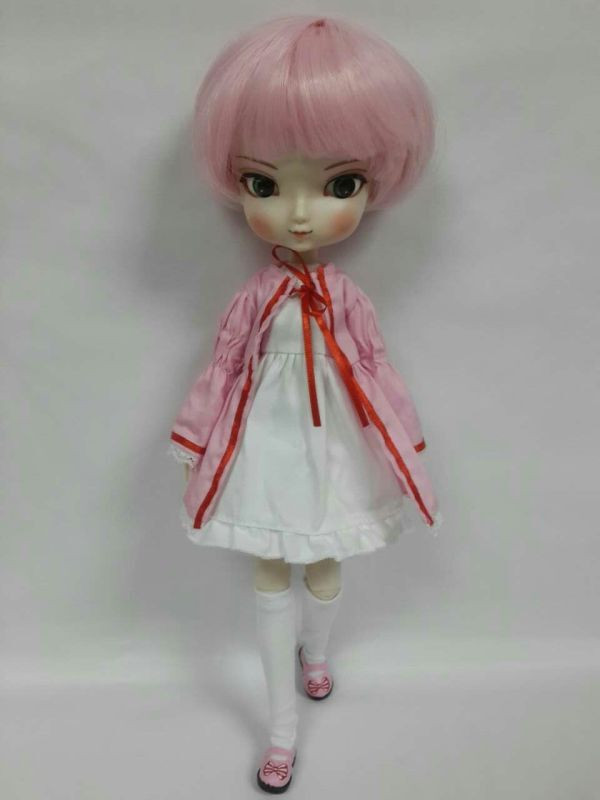 Move joint body ,BB girl doll for DIY