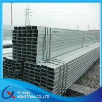S235JR / GRADE A / Q235 / St 37-2 1/2''-4'' pre galvanized square welded steel pipe