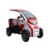 2+1 Passengers Pure Electric Vintage Classic Car For Sightseeing