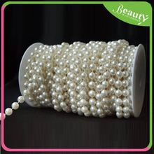 Pearl Chain Roll for Clothes Decoration