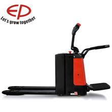 saving costs and enabling to cancel 2000kg Capacity, Electric Pallet Truck with 8 hours useage time