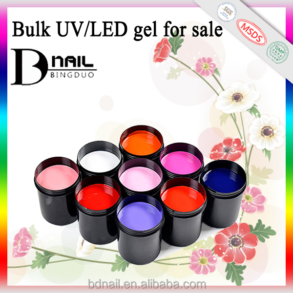 Hot sale wholesale most <strong>fashional</strong> one step gel polish, color gel nail polish, cheap uv gel