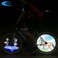 Promotional Customized DIY pattern bike bicycle wheel LED light for wholesale