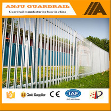 2016 new professional design 1.2m height D profile palisade fencing -047