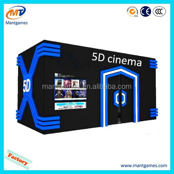 China playground equipment Popular 5D Movie Theater 7d cinema for car 4d,5d,6d,7d,9d movie theme park cinema systems