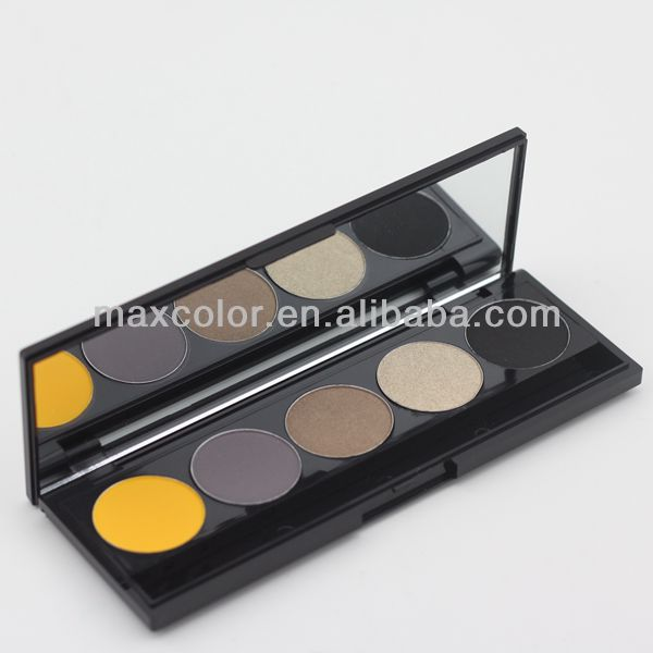 High quality 5 color eye shadow palette wholesale