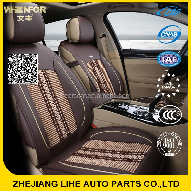 2016 Wholesale Custom PU / leather car seat cover for car seat