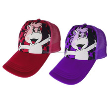 China wholesale Various 3D logo cartoon fitted mesh back cap