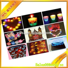 fashion and lovely ABS flashing candle for promotional