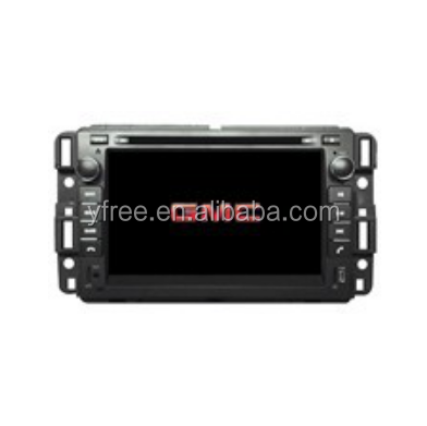 Touch screen for GMC Yukon 2007 Android car dvd players with GPS navigator auto double din radio navigation 2 audio video system